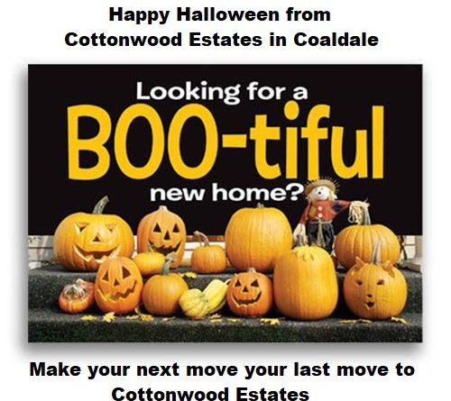 Happy Halloween From Cottonwood Estates Cottonwood Estates